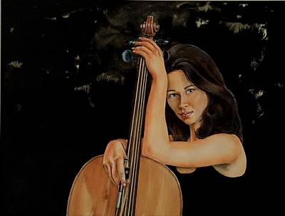 Painting - Little Black Dress by Don Whitson
