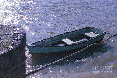 Photograph - Little Blue Boat by Ana V Ramirez