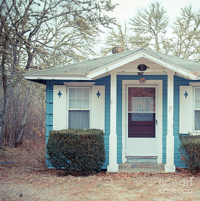 Photograph - Little Blue Cottage by Edward Fielding