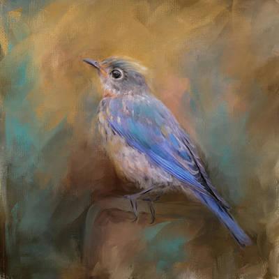 Painting - Little Blue Treasure by Jai Johnson