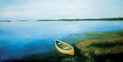 Painting - Little Boat by Deon West