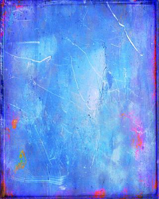 Layered Digital Painting - Little Boy Blue by Julie Niemela