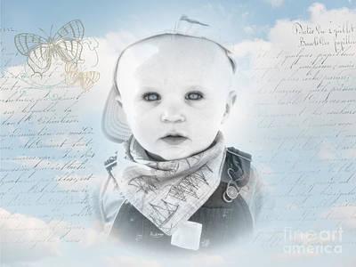 Photograph - Little Boy Blue by Karen Lewis