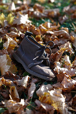 Photograph - Little Boy Boot by Birgit Tyrrell