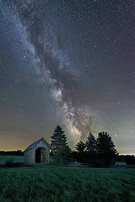 Photograph - Little Bridge On The Prairie by Michael Blanchette