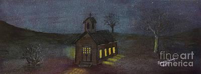 Little Brown Church Original by Bonnie Young