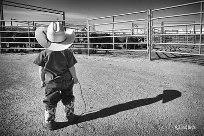 Photograph - Little Buckaroo II by David Wagner