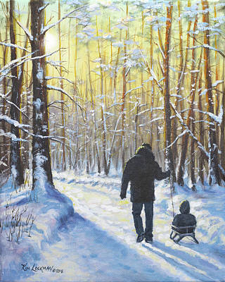 Painting - Little Buddy by Kim Lockman