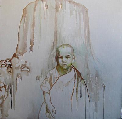 Little Budha Art Print by Tanya Ilyakhova