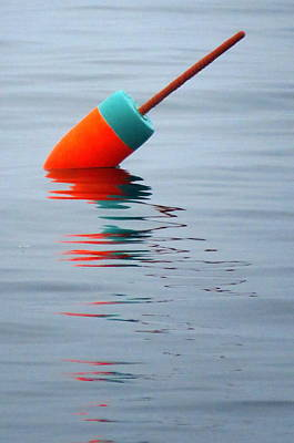 Photograph - Little Buoy by Suzanne DeGeorge