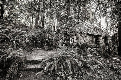 Photograph - Little Cabin Of Stone by Wes and Dotty Weber