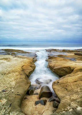 Photograph - Little Channel To The Sea by Joseph S Giacalone