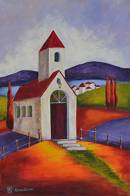 Little Chapel 1 Original by Kareni Bester