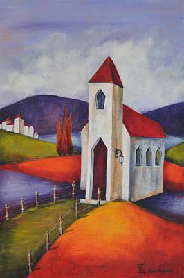Little Chapel 2 Original by Kareni Bester