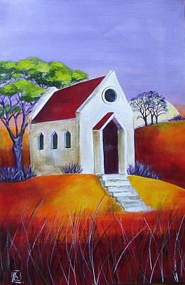 Little Chapel 3 Original by Kareni Bester