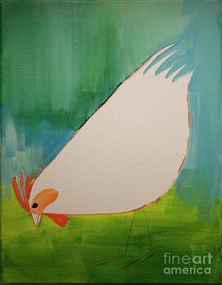 Painting - Little Chicken by Donna Howard