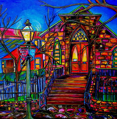 Painting - Little Church At La Villita II by Patti Schermerhorn