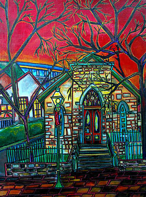 Painting - Little Church At La Villita by Patti Schermerhorn
