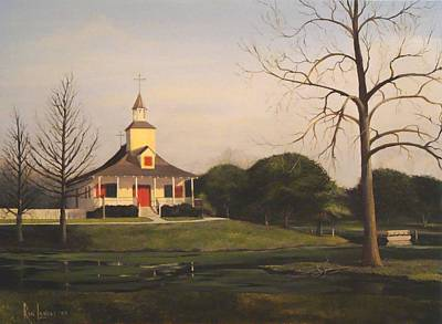 Little Church On Petit Bayou Original by Ron Landry
