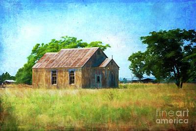 Photograph - Little Church On The Prairie by Stuart Row