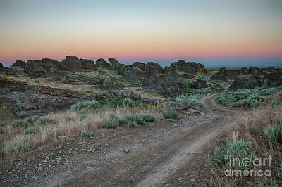 Photograph - Little City Of Rocks Twilight by Idaho Scenic Images Linda Lantzy