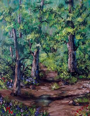 Painting - Little Clearing by Megan Walsh