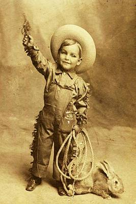 Photograph - Little Cowboy  by Beverly Solomon Design