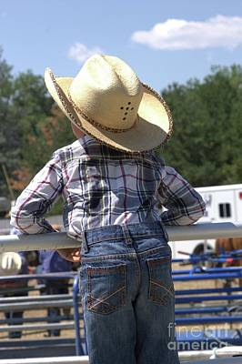 Photograph - Little Cowboy by Carole Martinez