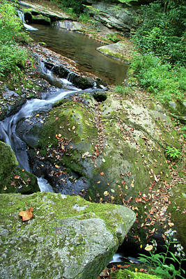 Photograph - Little Creek Big Rocks by Cora Wandel