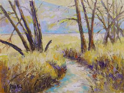 Painting - Little Creek by William Reed