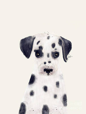 Painting - Little Dalmatian by Bleu Bri