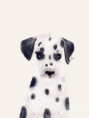 Painting - Little Dalmatian by Bri B