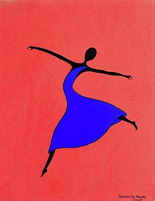 Painting - Little Dancer 3 by Stephanie Moore