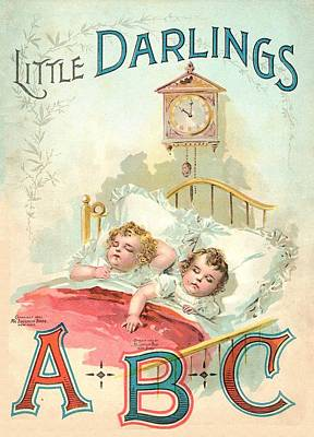 Little Darlings Patriot Book Cover Original by Reynold Jay