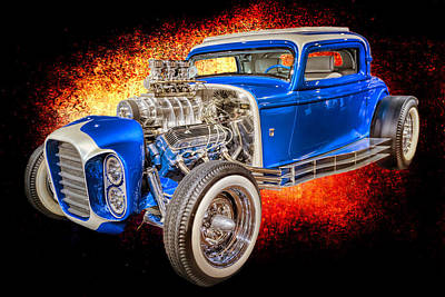 Photograph - Little Deuce Coupe #3 by Susan Rissi Tregoning