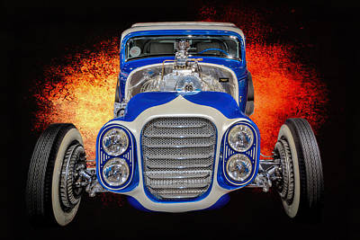 Photograph - Little Deuce Coupe #4 by Susan Rissi Tregoning