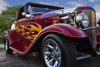Art Print featuring the photograph Little Deuce Coupe by Skip Tribby