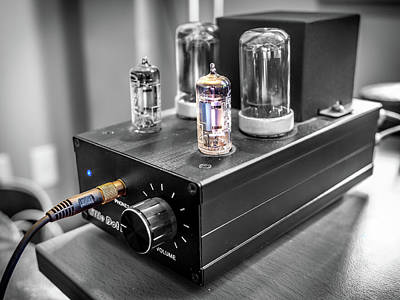 Photograph - Little Dot II Headphone Tube Amplifier by Rob Green