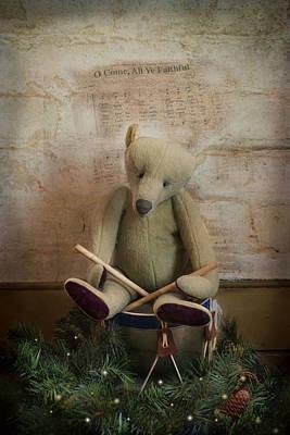 Photograph - Little Drummer Bear by Robin-Lee Vieira