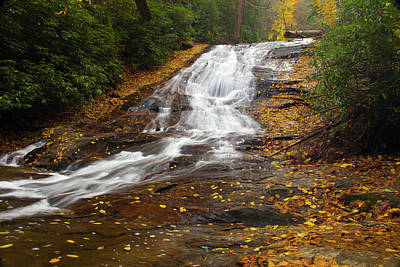 Photograph - Little Fall by Kenny Thomas