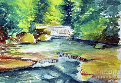 Painting - Little Falls by Allison Ashton