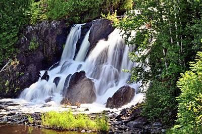 Photograph - Little Falls Atikokan Ontario by Marty Koch