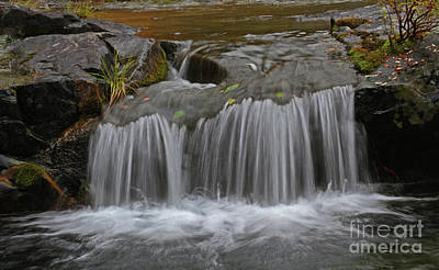 Landscape Photograph - Little Falls by Gary Wing