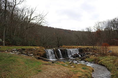 Photograph - Little Falls On The Little Falls by Donald C Morgan
