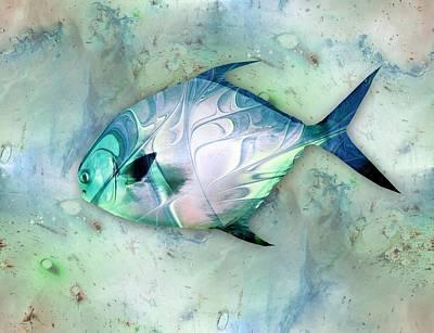 Memories Painting - Little Fish by Anastasiya Malakhova