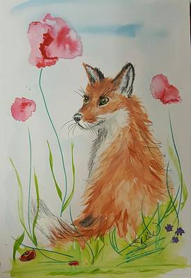 Painting - Little Flower by Susan Snow Voidets