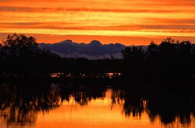 Photograph - Little Fly Creek Sunset 2 by Keith Stokes