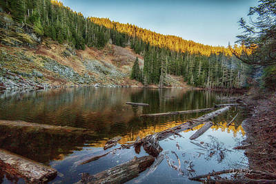Photograph - Little Gee Lake by Charlie Duncan