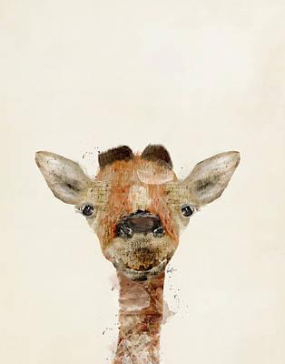 Painting - Little Giraffe by Bleu Bri