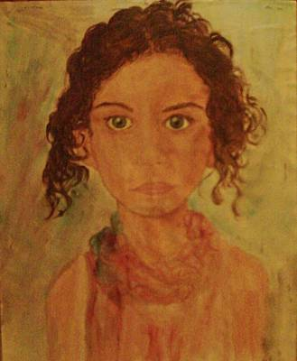 Painting - Little Girl by Helen Vanterpool
